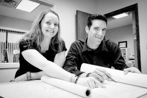 Jennifer and Kevin Turchin stock photo